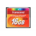 Transcend 16GB CF 133X Compact Flash Memory Card